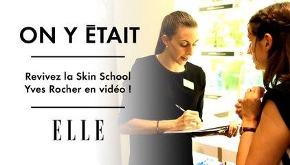 On y était : revivez la Skin School Yves Rocher en vidéo !