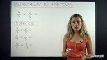 Fracciones - Multiplicación de Fracciones