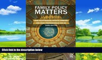 Big Deals  Family Policy Matters: How Policymaking Affects Families and What Professionals Can Do