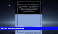 Online eBook Forest Fires: An Introduction to Wildland Fire Behavior, Management, Firefighting,