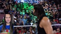 WWE Raw 10/3/16 Roman Reigns attacks Rusev