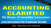 [PDF] Accounting Clarified: 15 User-Friendly Lessons (Small Business Clarified) Full Colection