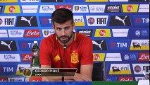 Gerard Piqué- Italien nicht nur defensiv - WM-Quali - Spanien - Italien