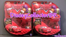 Cars 2 Mighty Beanz Toys Review Mater, Lightning McQueen, Flo, Ramone, Luigi, Guido Disney Pixar
