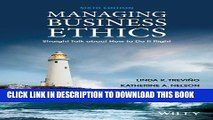 Collection Book Managing Business Ethics: Straight Talk about How to Do It Right
