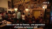 A Damas, une expo d'artistes syriens en exil