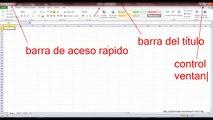 Curso Excel 2010 Básico Video 2 Interfaz del programa