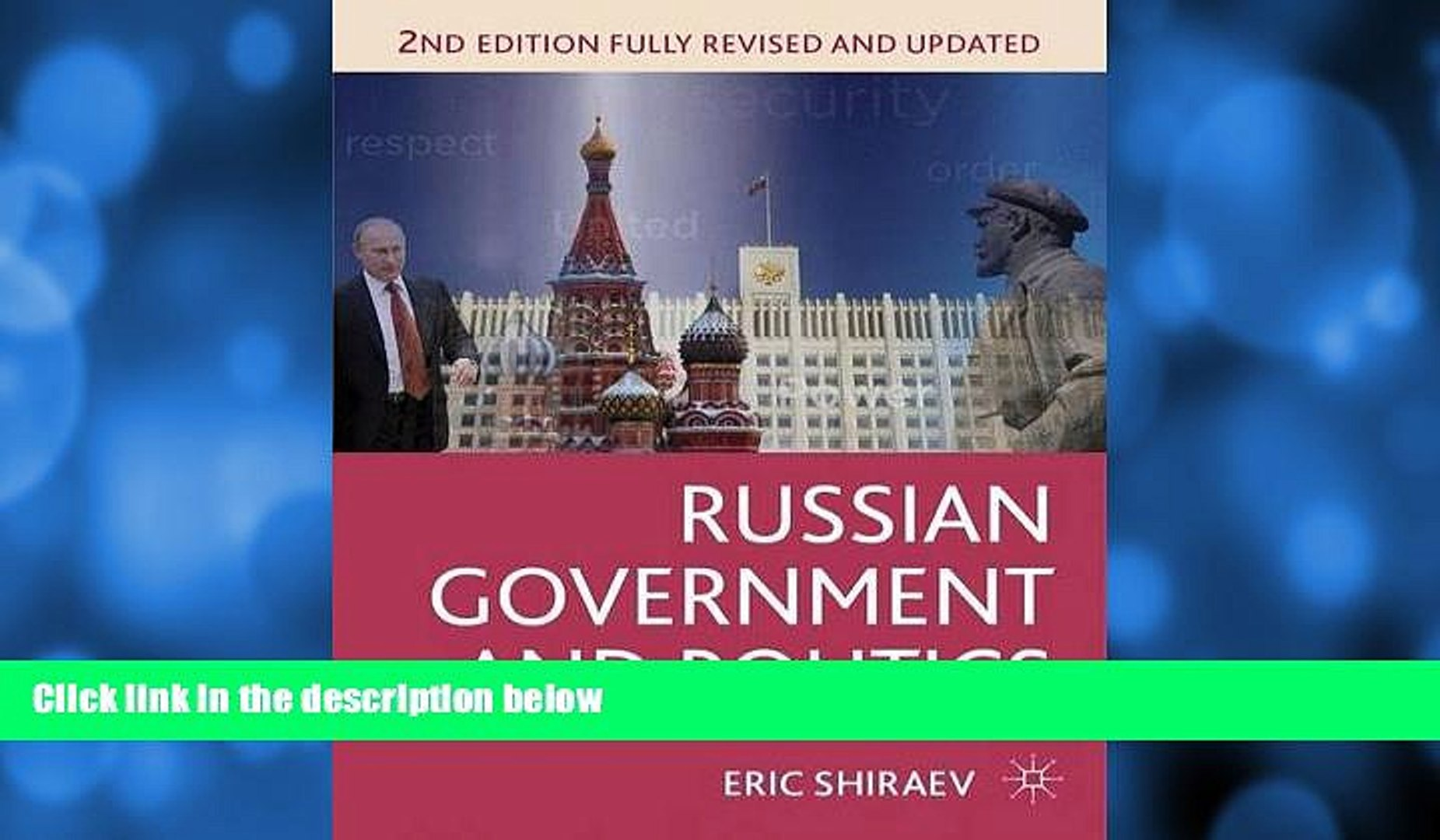 complete  Russian Government and Politics (Comparative Government and Politics)