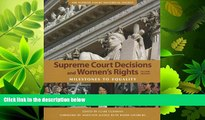 FAVORITE BOOK  Supreme Court Decisions and Womens Rights