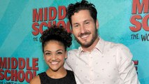 EXCLUSIVE: Val Chmerkovskiy Treats 'DWTS' Partner Laurie Hernandez to a Movie After Perfect 10 Dance