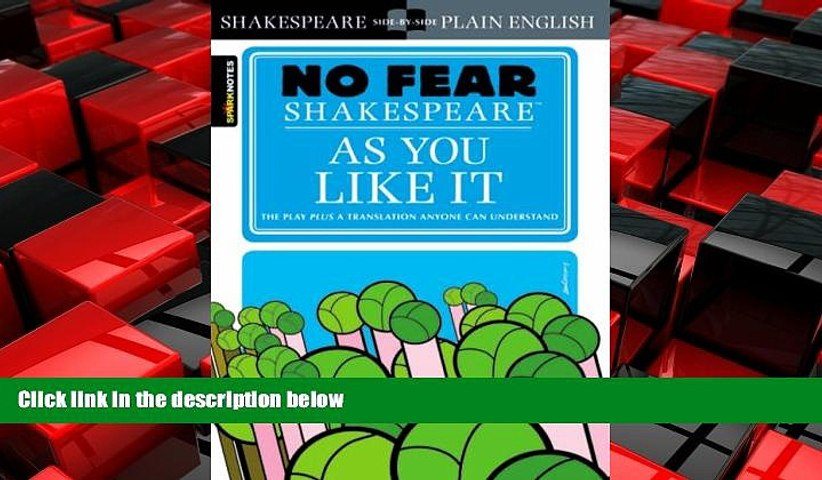 No Fear Shakespeare As You Like It