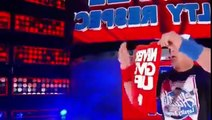 AJ Styles, John Cena and Dean Ambrose faced off Full Match | WWE Smackdown Live 4 October 2016 HQ
