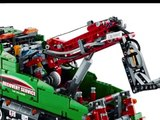 LEGO Technic Camión de Asistencia con grúa, estabilizadores, elevador de ruedas ,Lego Juguete