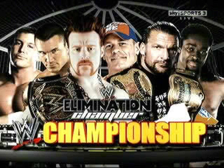 Image result for elimination chamber 2010