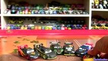 Disney Cars 2 Carbon Racers 2016 Lightning McQueen, Miguel, Raoul, Lewis, Nigel Carbon Fiber Racers