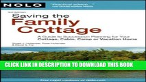 [PDF] Saving the Family Cottage: A Guide to Succession Planning for Your Cottage, Cabin, Camp or