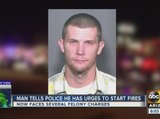 Chandler father arrested, accused of setting series of fires