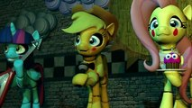 (SFM) Five Nights at Aj's (The story of three friends and two sisters)                                                                                                             FNAF FIVE NIGHTS AT FREDDY'S SISTER LOCATION ANIMATION mlp