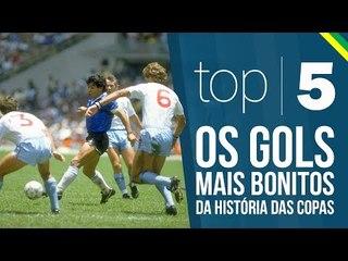 TOP 5   Os gols mais bonitos da história das copas