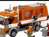LEGO City Camion de Recyclage, Lego Camion à Ordures, Lego jouets pour les enfants