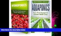 Pdf Online Aquaponics and Hydroponics Box Set: Your First Aquaponic and Hydroponic Garden Made