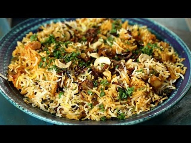 Kerala Biryani Recipe | Vegetarian Maincourse Recipe | Masala Trails With Smita Deo