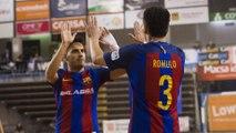 [HIGHLIGHTS] FUTSAL (Lliga Catalana): FC Barcelona Lassa – Castellar (11-0)