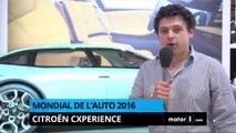 Mondial de l'Auto 2016 - CXperience, le Concept de Citroën