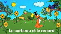 Sidney Oliver - Le Corbeau et le Renard - Les Fables de La Fontaine