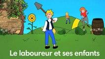 Sidney Oliver - Le Laboureur et ses Enfants - Les Fables de La Fontaine