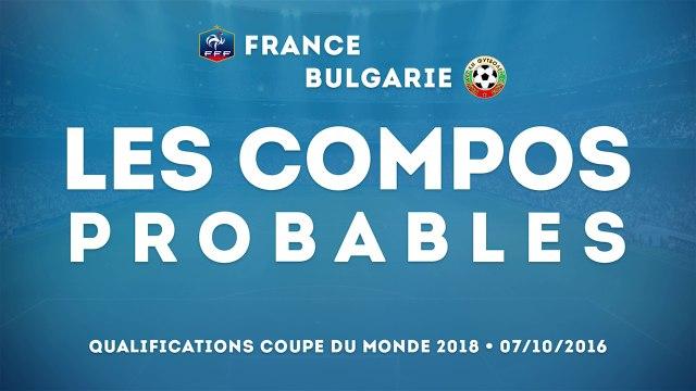 France - Bulgarie : les compos probables