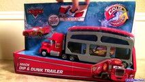 Cars Color Changers Mack Dip & Dunk Trailer Toy Color Shifters Hot Wheels Toy Story Colour Ramone