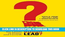 [PDF] Can China Lead?: Reaching the Limits of Power and Growth Popular Colection