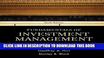 [PDF] Fundamentals of Investment Management (McGraw-Hill/Irwin Series in Finance, Insurance and