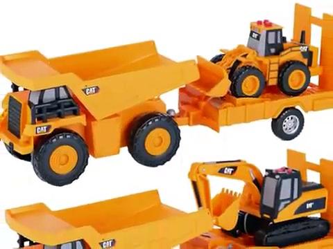 Cat Trucks Toys, Cat Toy Truck, Trucks Toys For Kids, Toy State Caterpillar Trucks