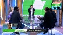 Florian Gazan tente d'imiter Thomas Meunier