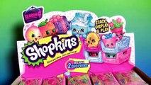 30 Shopkins Petkins Milk Crates Season4 Surprise Blind Baskets FULL CASE Opening 60 Shopkins Season4