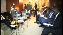 Etas-unis/Assemblées annuelles FMI-BM: Arrivée du premier ministre ivoirienN