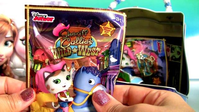 Disney FROZEN Lunch Box Surprise Boxes Anna Elsa PeppaPig Princess ClayBuddies Wikkeez
