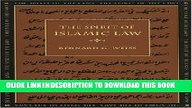 [PDF] The Spirit of Islamic Law (The Spirit of the Laws Ser.) Popular Colection