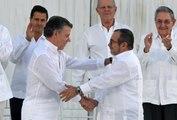 Juan Manuel Santos, en trois moments historiques