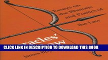 [PDF] Heracles  Bow: Essays On The Rhetoric   Poetics Of The Law (Rhetoric of the Human Sciences)