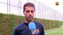 FCB Masia: Gerard previa Gavá - Barça B [ESP]