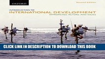 New Book Introduction to International Development: Approaches, Actors, and Issues