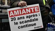 Cientos de manifestantes piden en París un juicio por las muertes causadas por amianto