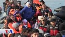 Avrupa'ya Göçmen Geçişleri Kış Yaklaşmasına Rağmen Devam Ediyor
