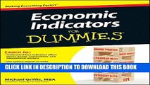 New Book Economic Indicators For Dummies
