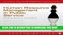 Collection Book Human Resource Management in Public Service: Paradoxes, Processes, and Problems