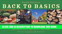 New Book Back to Basics: A Complete Guide to Traditional Skills, Third Edition
