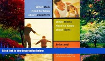 Books to Read  What Dads Need to Know About Daughters/What Moms Need to Know About Sons  Full